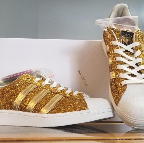 adidas superstar metallic gold edition